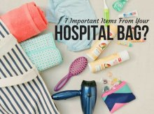7 Important Items From Your Hospital Bag?