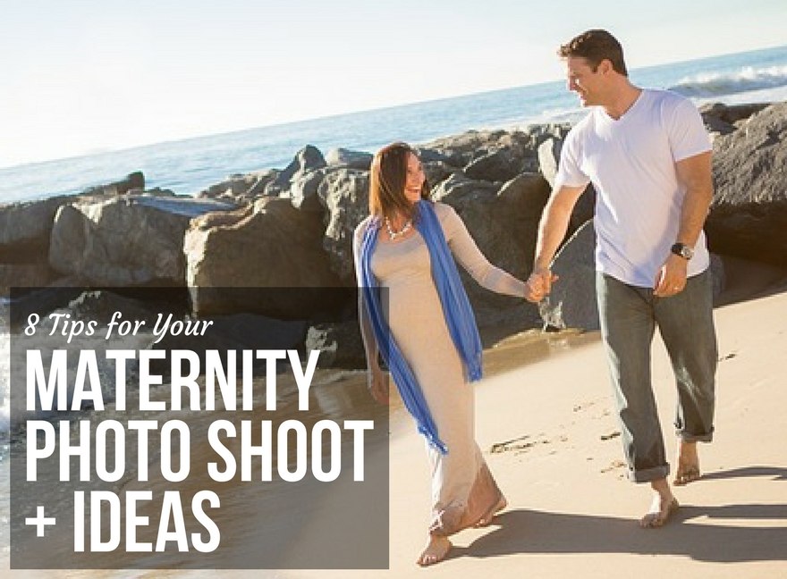 8 Tips for Your Maternity Photo Shoot + Ideas