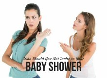 Who Should You Not Invite to Your Baby Shower