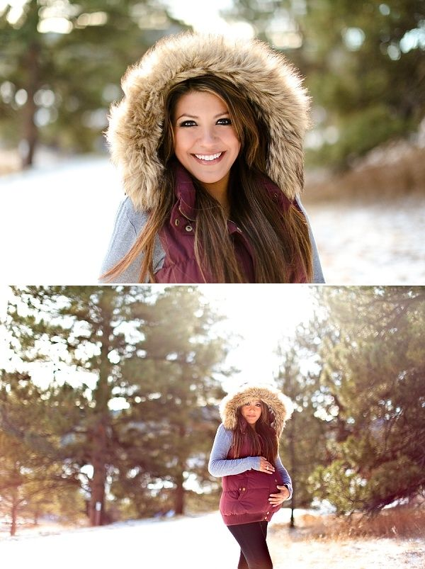 9 Gorgeous Winter Maternity Shoot Ideas