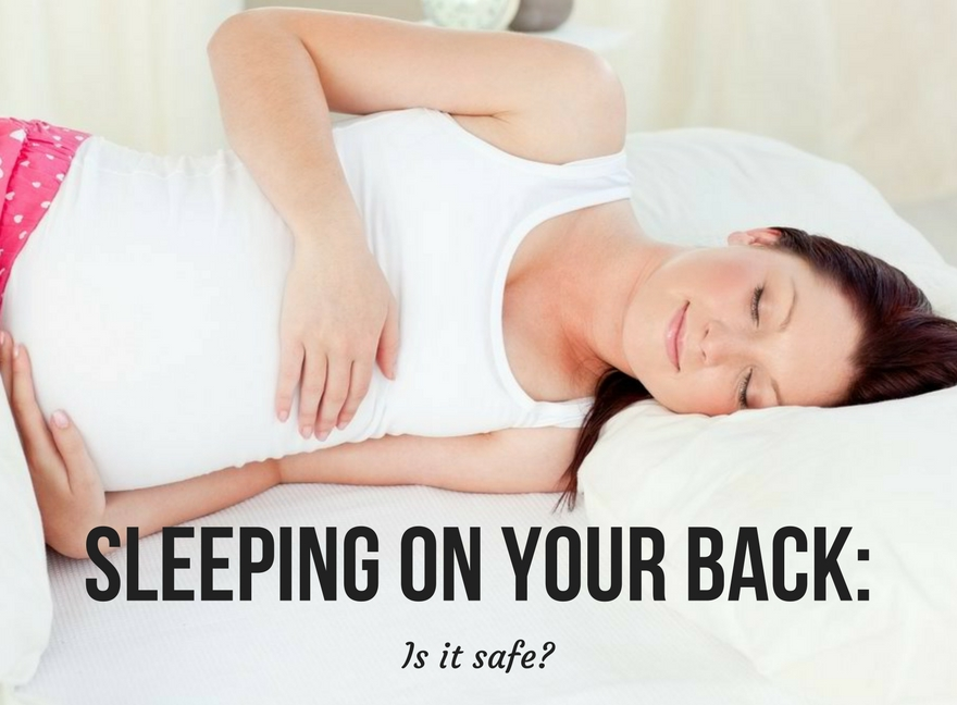 SLEEPING on your BACK: Is it safe?