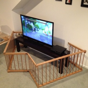 Baby Proofing Your Tv Stand.