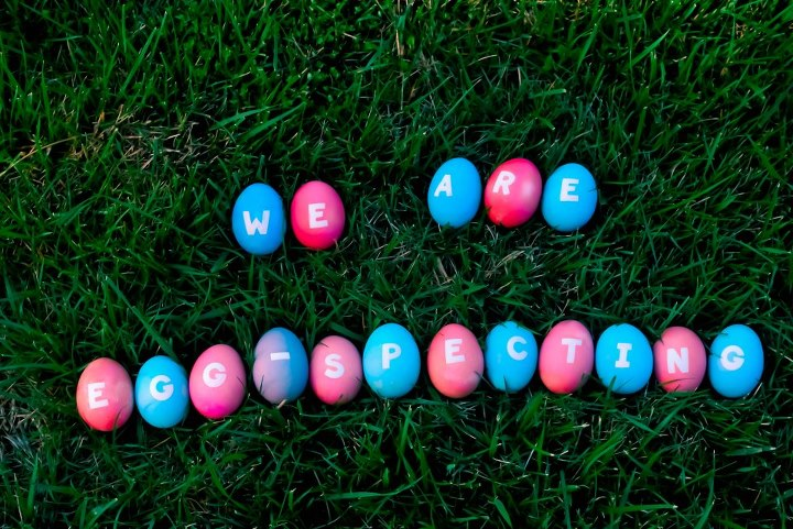 creative ways to announce pregnancy at Easter