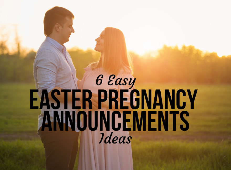 6 easy easter pregnancy announcements ideas negle Gallery