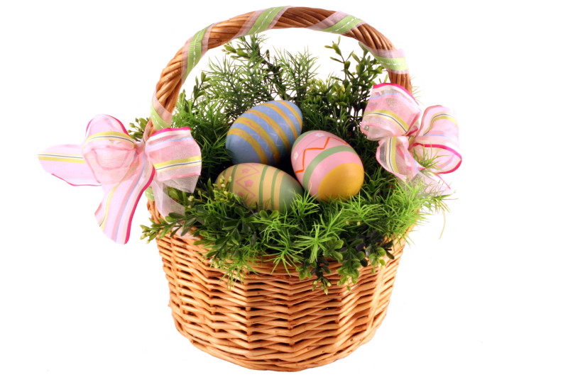 Easter basket for your pregnant wife