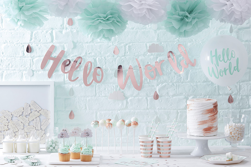 Wonderful Baby Shower Etiquette, Food Table