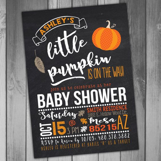 Halloween, Baby Shower, Ideas and Inspiration, Halloween Invitations