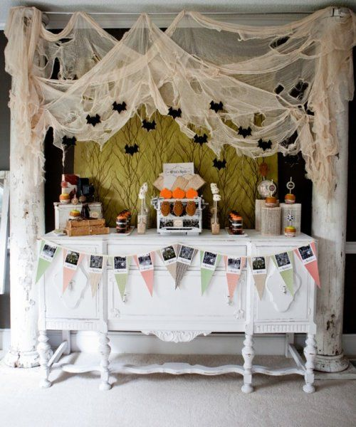 Halloween themed Baby Shower, Decoration Ideas, Deco Inspiration