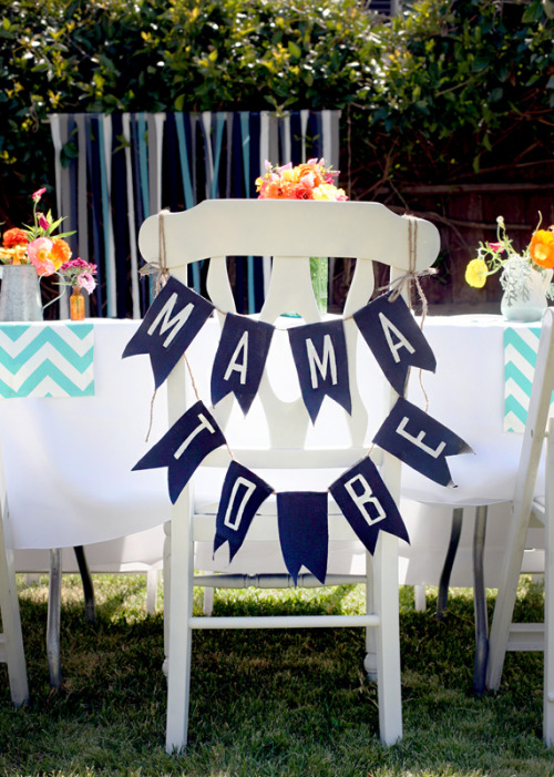 Mama To Be, Garland, Baby Shower, Decoration Ideas