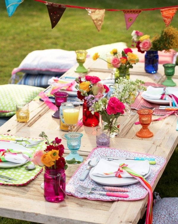 Baby Shower, Summer Inspired Party Theme, Colorful