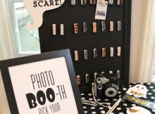 Halloween Photo Props, Pregnant Halloween Party, Ideas and Inspiration, Photo