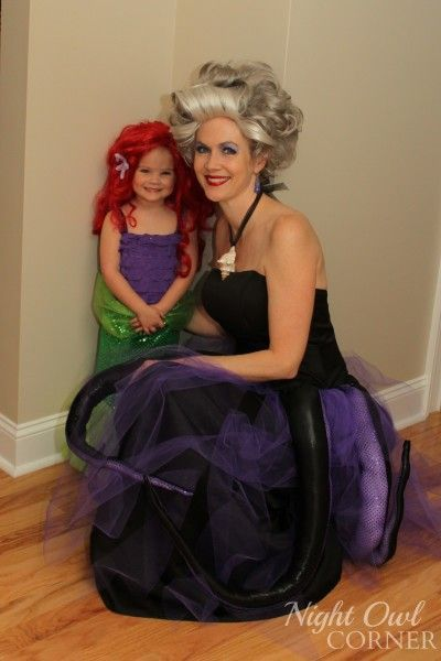 little mermaid halloween costume for pregnant mom - Pregnant Mom Halloween Costume