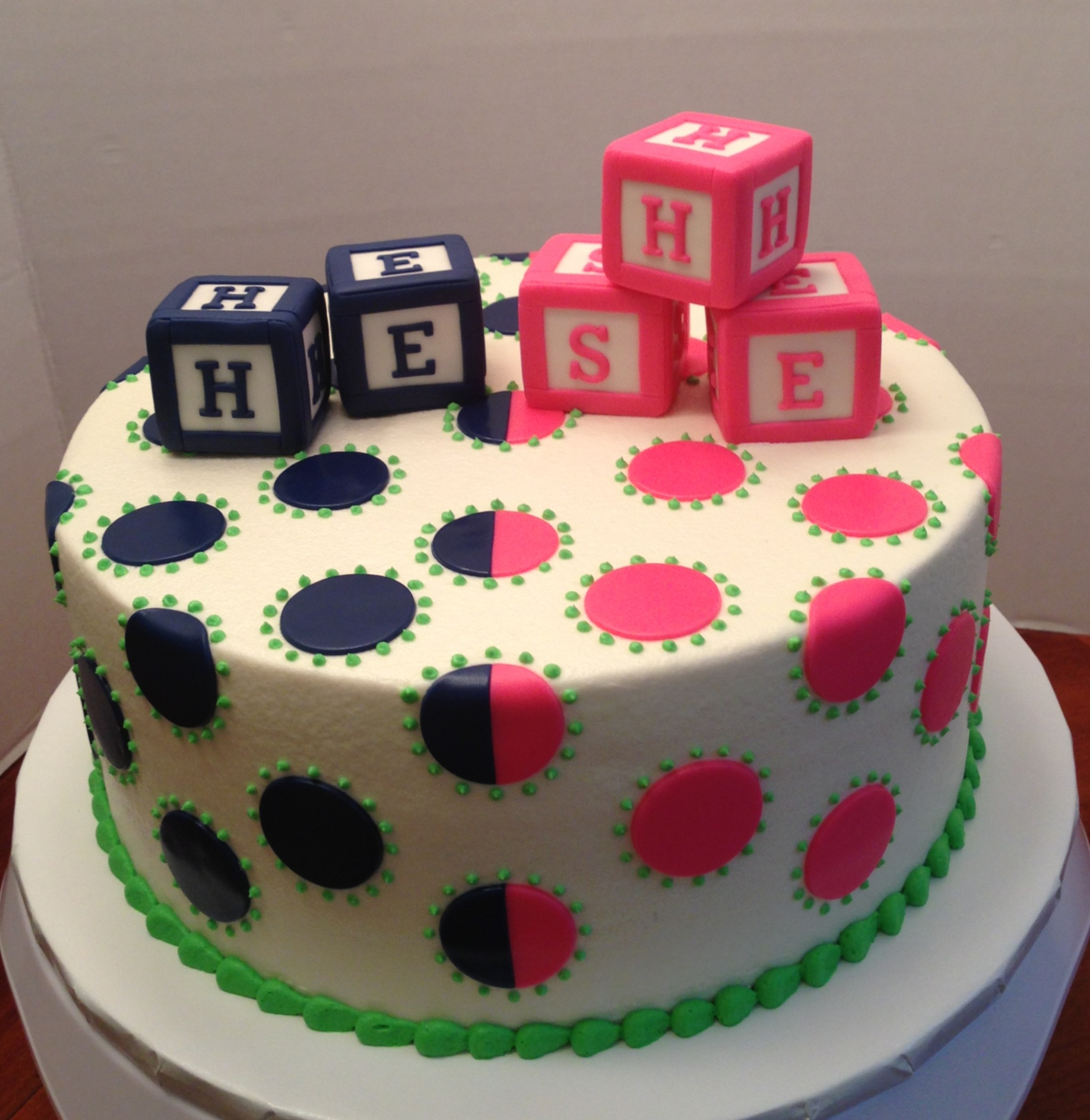 Cake Ideas To Reveal Gender Of Baby
