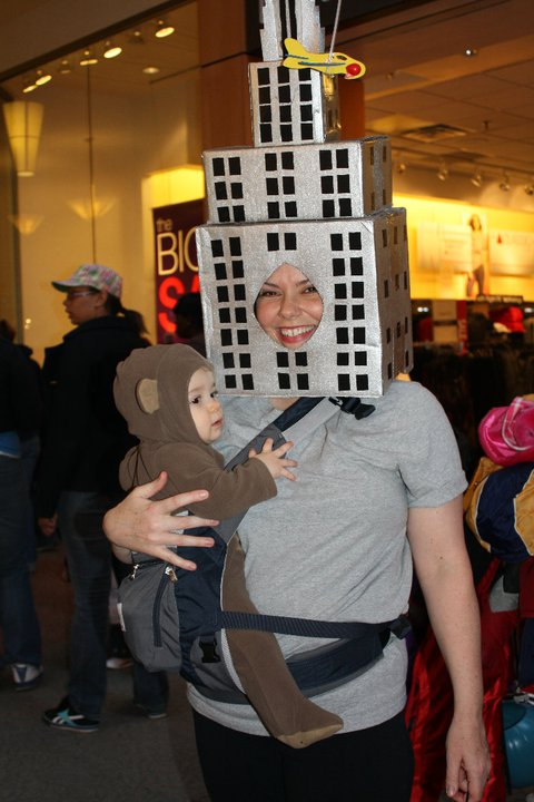 king-kong halloween costumes for pregnant moms