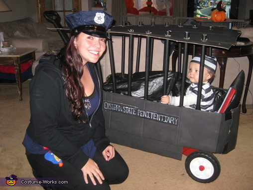 police_officer_and_inmate halloween costumes for pregnant moms