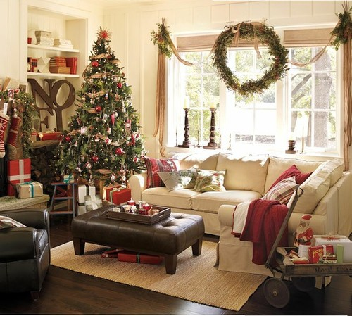 Christmas Baby Shower Location Ideas Inside of house