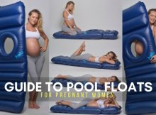 GUIDE TO POOL FLOATS FOR PREGNANT WOMEN