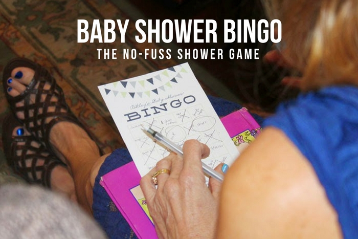 Baby Shower Bingo - The No-Fuss Shower Game