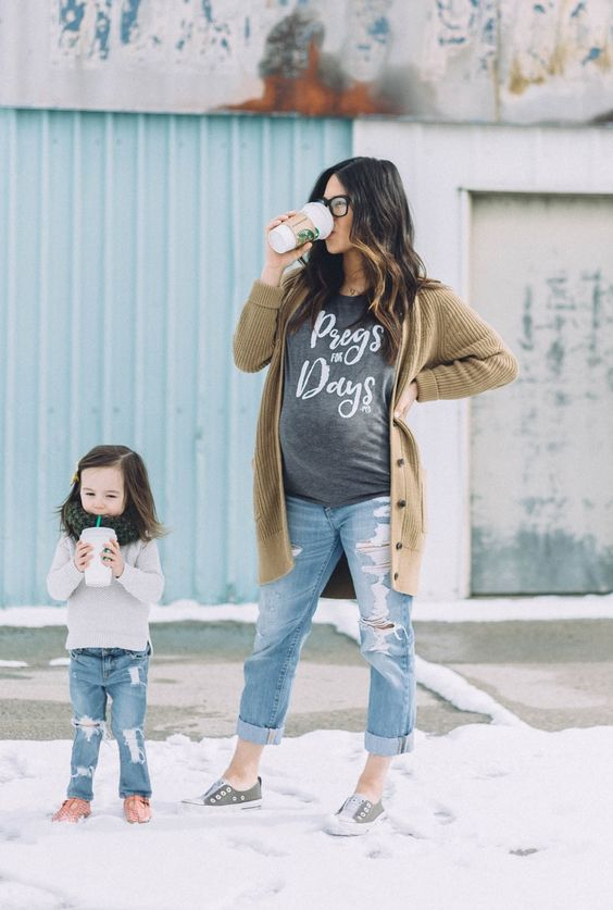 Funny Pregnancy Shirt, Momma-to-be, Maternity