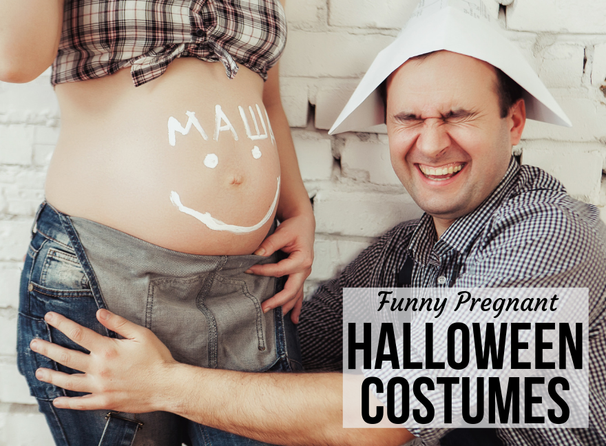 Funny Pregnant Halloween Costumes!