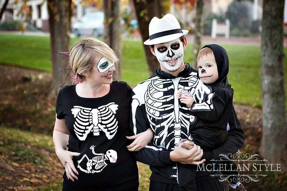 Pregnant Skeleton Costumes Babyprepping