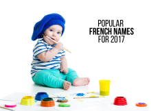 Popular French Baby Names For 2017