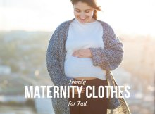 Trendy Maternity Clothes for Fall