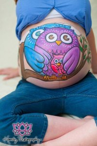 Pregnant Belly, Pregnant Belly Painting Ideas, Belly Pictures, Pregnant Belly Painting Inspiration, Pregnancy, Maternity, Pregnant Belly Huge, Maternity Photography