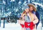 Adorable Winter Maternity Pictures