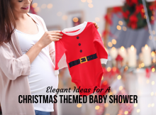 Elegant Ideas for A Christmas Themed Baby Shower