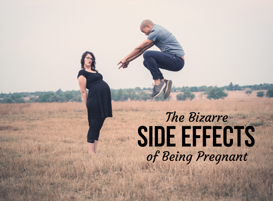 The Bizarre Side Effects of Being Pregnant