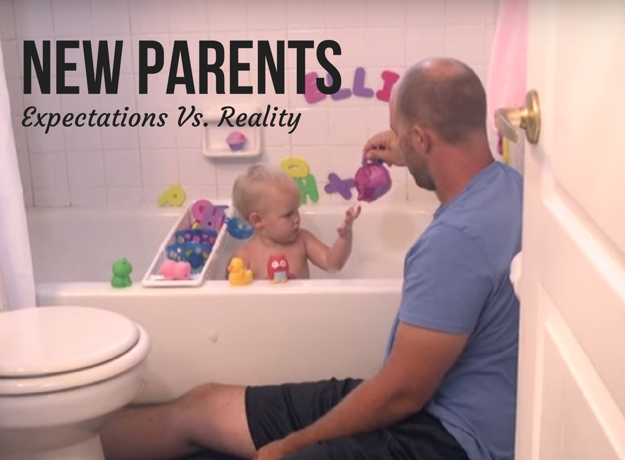 New Parents Expectations Vs. Reality