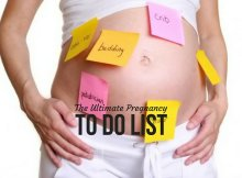 The Ultimate Pregnancy To Do List