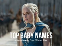 Top Baby Names taken directly from TV and Film