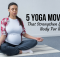 5 Yoga Moves That Strengthen Your Body For Birth