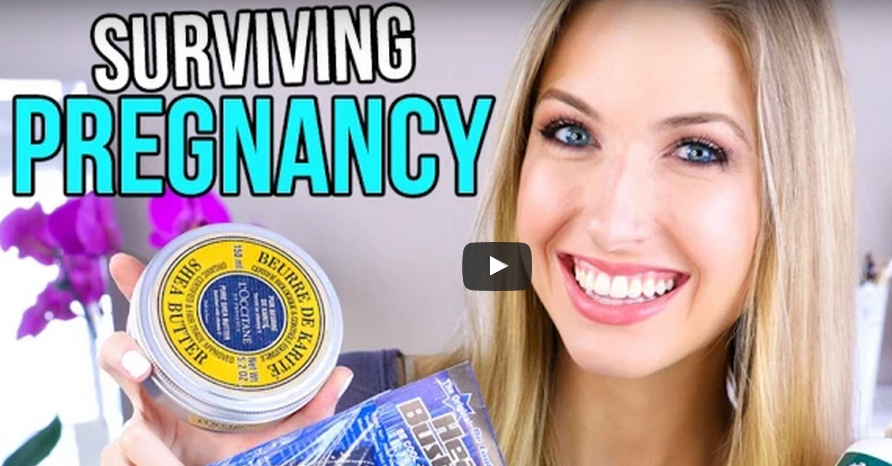 Surviving Pregnancy via YouTuber RachhLovesLife
