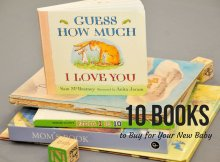 10 Books to Buy for Your New Baby