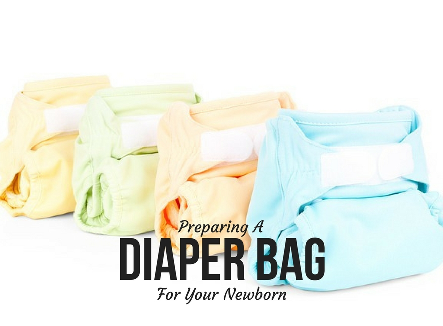 Preparing A Diaper Bag For Your Newborn