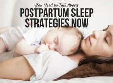 You Need to Talk About Postpartum Sleep Strategies Now