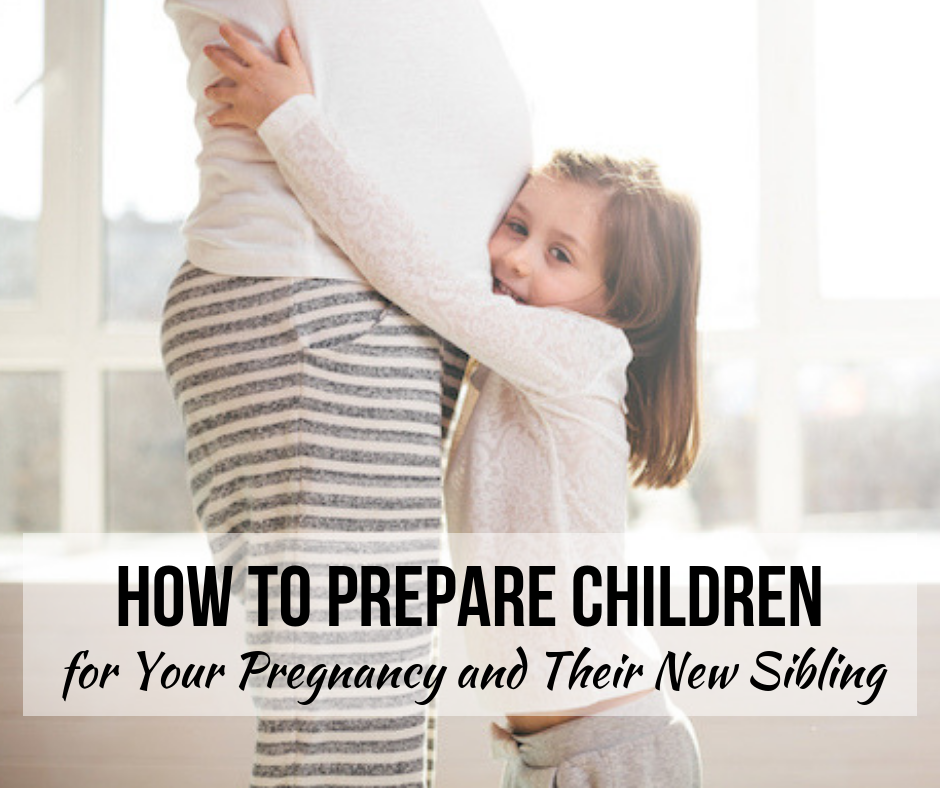 How to Prepare Children for Your Pregnancy and Their New Sibling