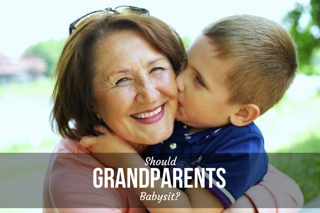SHOULD GRANDPARENTS BABYSIT?