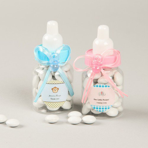 Mini Baby Bottles shower favor idea