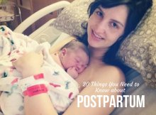 20 Things You Need to Know about Postpartum