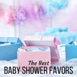 The Best Baby Shower Favors