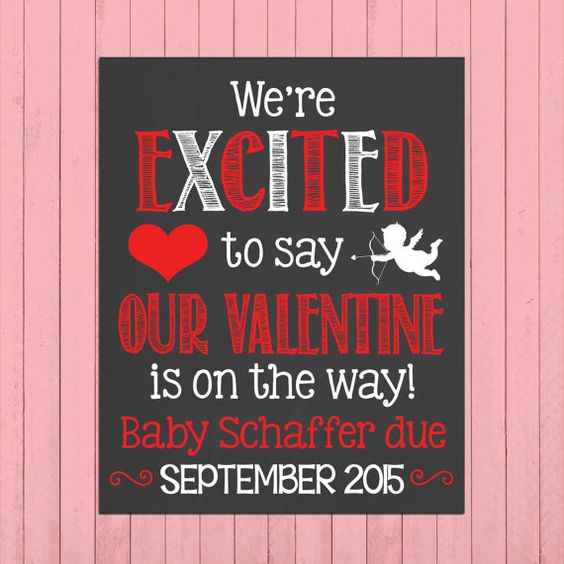 Valentines Day Pregnancy Announcement, Ideas and Inspiration #valentinesday #pregnancy #maternity #announcement #pregnant