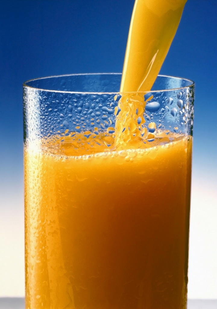 glass of OJ during pregnancy for healthy fetal brain development