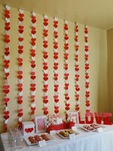 Valentine's Day Baby Shower, Decoration Ideas #babyshower #babyshowerdecorations #valentinesday