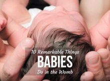 10 REMARKABLE THINGS BABIES DO IN THE WOMB