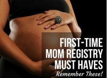 FIRST-TIME MOM REGISTRY MUST HAVES- REMEMBER THESE!