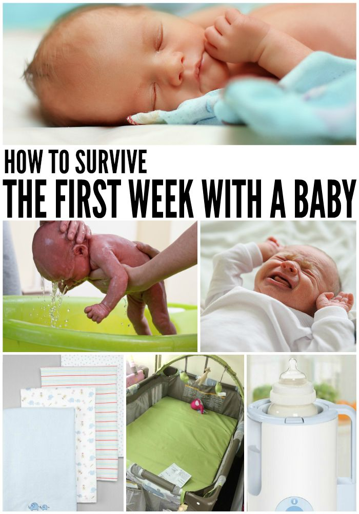 HOW TO SURVIVE THE FIRST WEEK HOME WITH BABY, Totally The Bomb